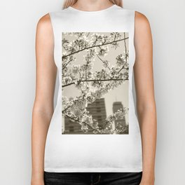 Spring Blossoms #04 Biker Tank