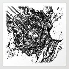 potato head Art Print