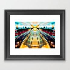 Let's Ride The Conveyor Belt To Candyland Framed Art Print