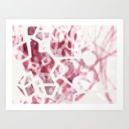 Abstract Line No. 24 Art Print