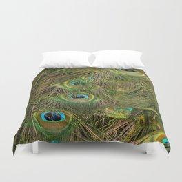 Peacocks Eyes Duvet Cover