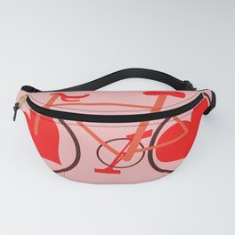 Bicycle Of Love Fanny Pack
