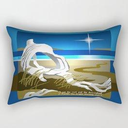 The Bright Morning Star Rectangular Pillow