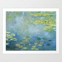 Water Lilies 1906 by Claude Monet Art Print