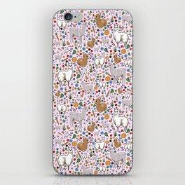 Pretty Llamas iPhone Skin