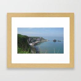 Carrick-a-Rede Framed Art Print