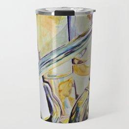 Bright and Brassy Travel Mug