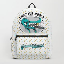 Tyrannosaurus Dinosaur World Design Backpack