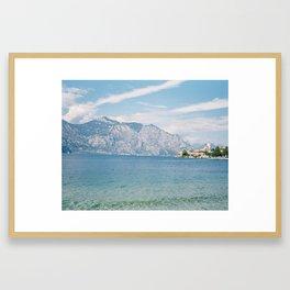 Lake Garda, Italy Framed Art Print