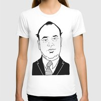 scarface T-shirts featuring Al 'Scarface' Capone by Danny Abbott