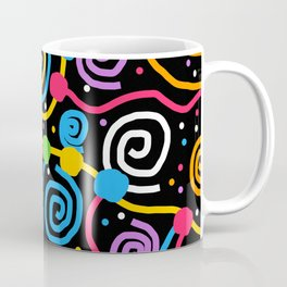 Happy Birthday Party String Coffee Mug