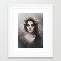 day of the dead Framed Art Prints featuring Day of the Dead by Nicolas Jamonneau