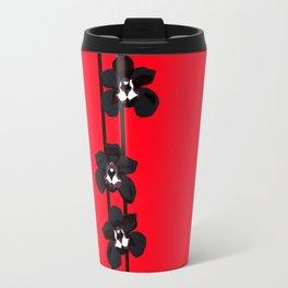 Black Orchids Travel Mug