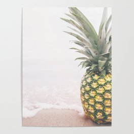 Pineapple Beach Poster