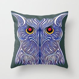 Hunt the Hare and Turn Her Down Throw Pillow