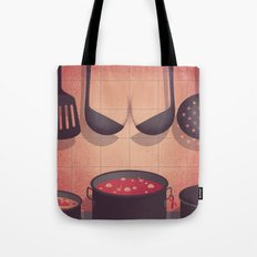 Boobs Kitchen Tote Bag