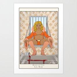Queen of Cups - Lil Kim Art Print