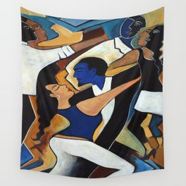 Dance with Me Wall Tapestry