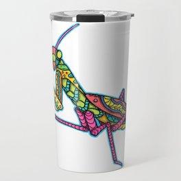 Manti the Praying Mantis Travel Mug