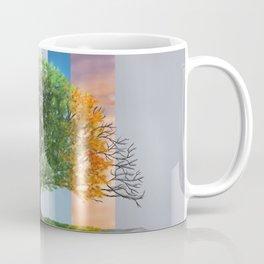 The seasons of the year in a tree Coffee Mug