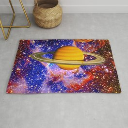 Stars and Planets Rug