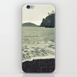 Cautious Waves iPhone Skin