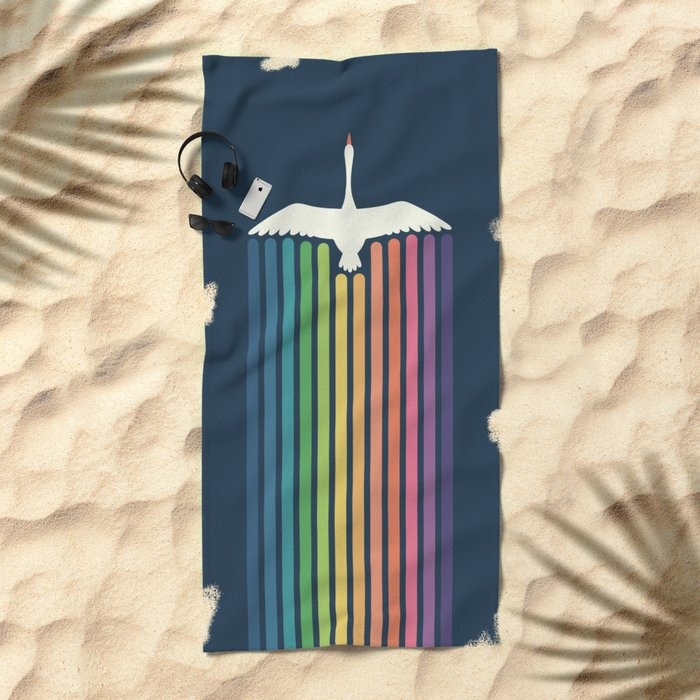 The Sky Is Not The Limit Beach Towel