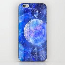Dirigible Moon iPhone Skin