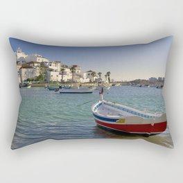 Ferragudo village, Portugal Rectangular Pillow