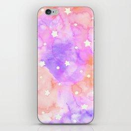 Starry Sky Raspberry Milkshake iPhone Skin