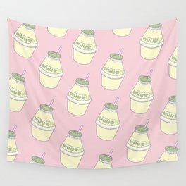 Banana Milk Wall Tapestry
