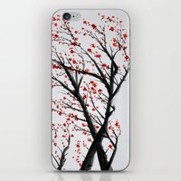 sakura iPhone & iPod Skins featuring Sakura by rchaem