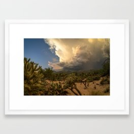 Sabino Monsoon Framed Art Print