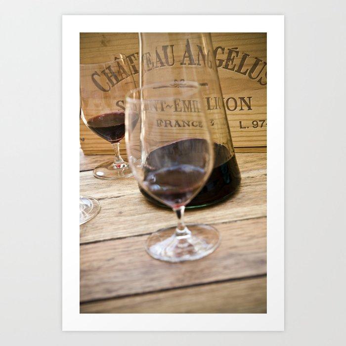 Bordeaux Wine Tasting Art Print