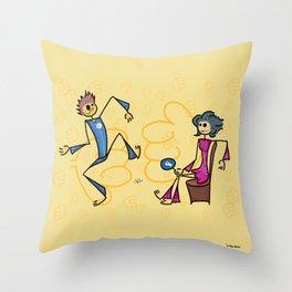 Like or dislike Throw Pillow