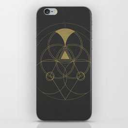 Altarpiece I - Pyramidology iPhone Skin