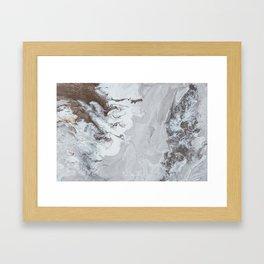 Winter Copper Framed Art Print