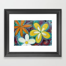 Starburst Framed Art Print
