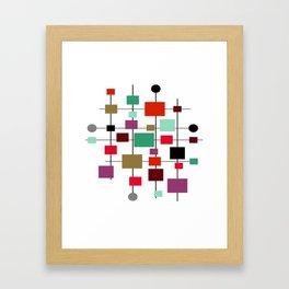 Mid-Century Modern Art 1.3.4 Framed Art Print