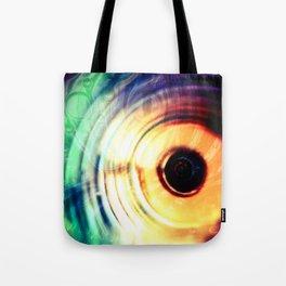 حلقه های رنگارنگ Tote Bag