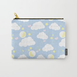 Sleepy clouds Carry-All Pouch