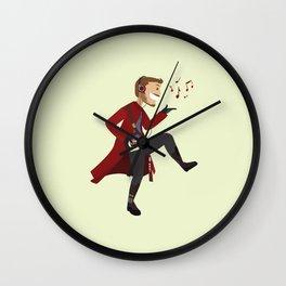 Dancing Quill Wall Clock
