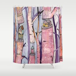 Safe House Shower Curtain
