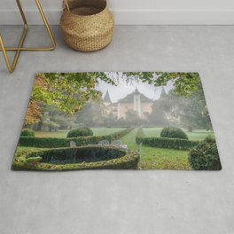 Marvelous Ancient Victorian Era Manor House England Europe Ultra HD Rug
