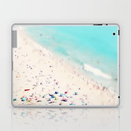 beach love III square Laptop & iPad Skin