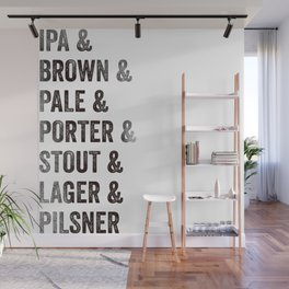 Craft Beer Wall Mural
