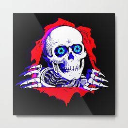 Offset Film Ripper Metal Print