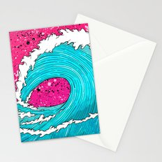 The Sea's Wave Stationery Cards