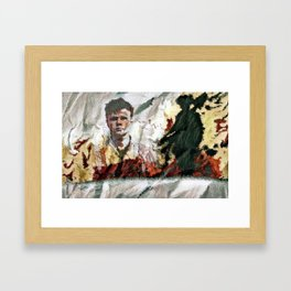 The Hired Man Framed Art Print