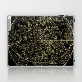 Astro Astronomy Constellations Astrologer Vintage Map Laptop & iPad Skin